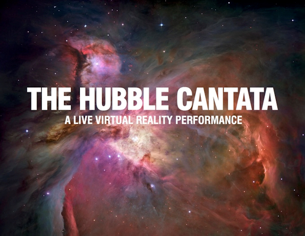 The Hubble Cantata - promotional graphic
