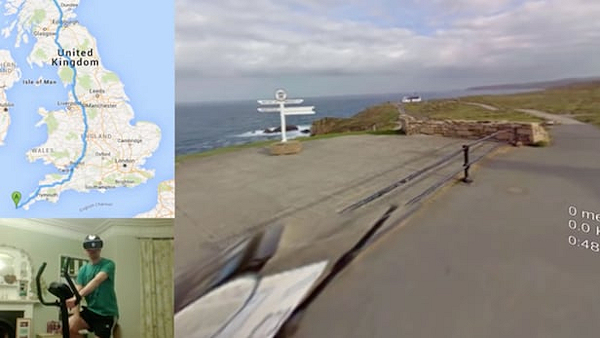 Aaron Puzey CycleVR at Lands End (screenshot)