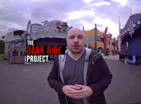 Dark Ride Project founder Joel Zika