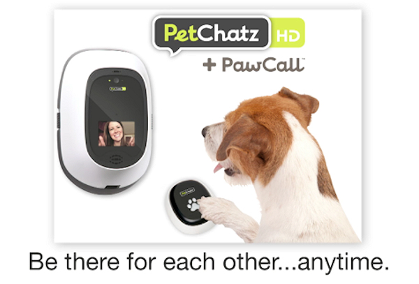 PetChatz 'Be there' graphic