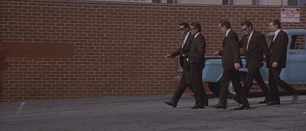 Reservoir Dogs: Full frame