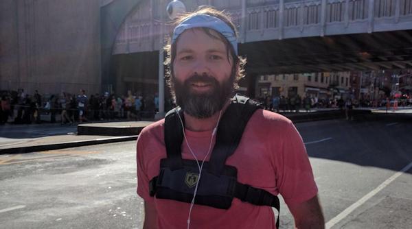NYC Marathon runner Alex Christison
