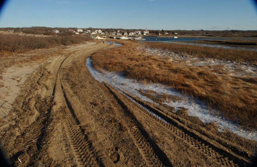 Lobsterville Basin, Martha's Vineyard, Massachusetts, USA.  March 2008.