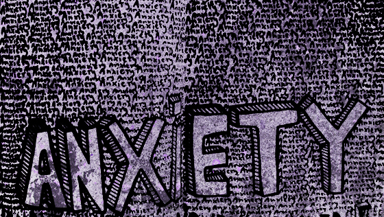 Anxiety drawing