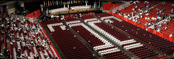 Temple University Commencement ceremony