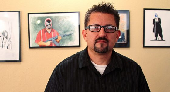 Political cartoonist Lalo Alcaraz
