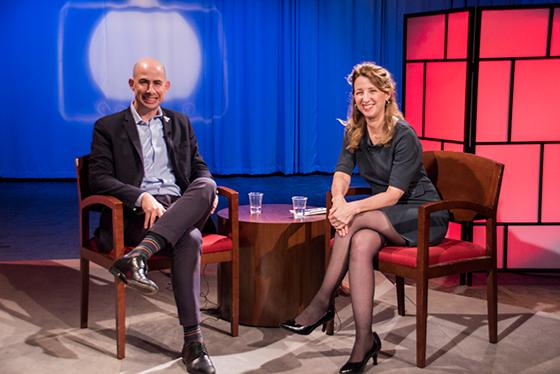 Host Sherri Hope Culver and guest Jason Steinhauer