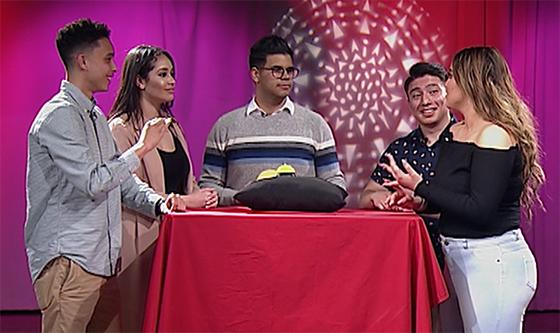 The hosts of La Charla
