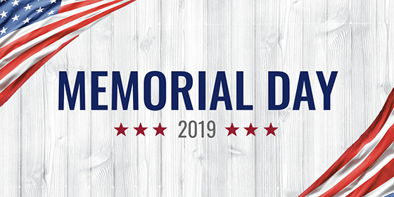 Happy Memorial Day 2019