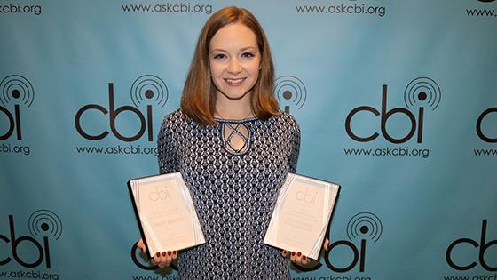 Cassie Semyon at the 2018 CBI Awards
